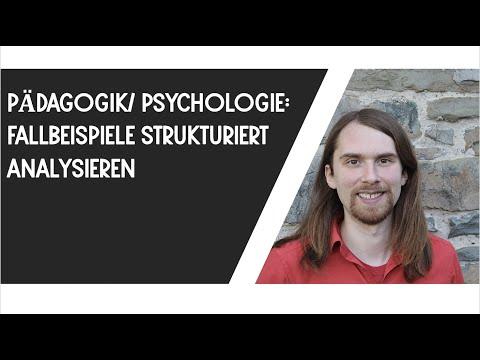 Fallbeispiele strukturiert analysieren (Pädagogik, Psychologie, etc.)из YouTube · Длительность: 12 мин35 с