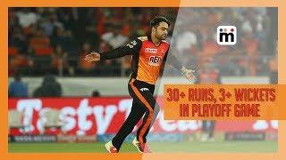 30+ runs, 3+ Wickets in Playoff Game | IPL | Mijaaj Sports News