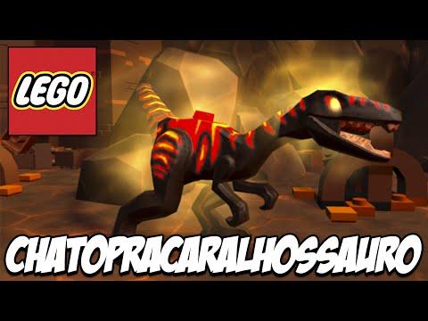 Lego Jurassic World - Conheça, o CHATOPRACARALHOSSAURO