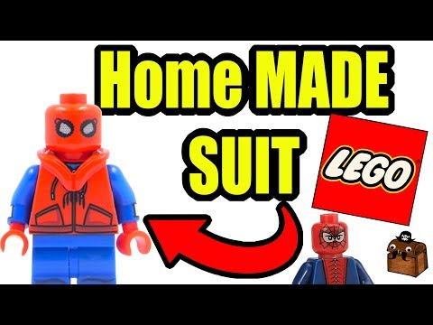 Spiderman Homecoming LEGO Custom Minifigures 2017