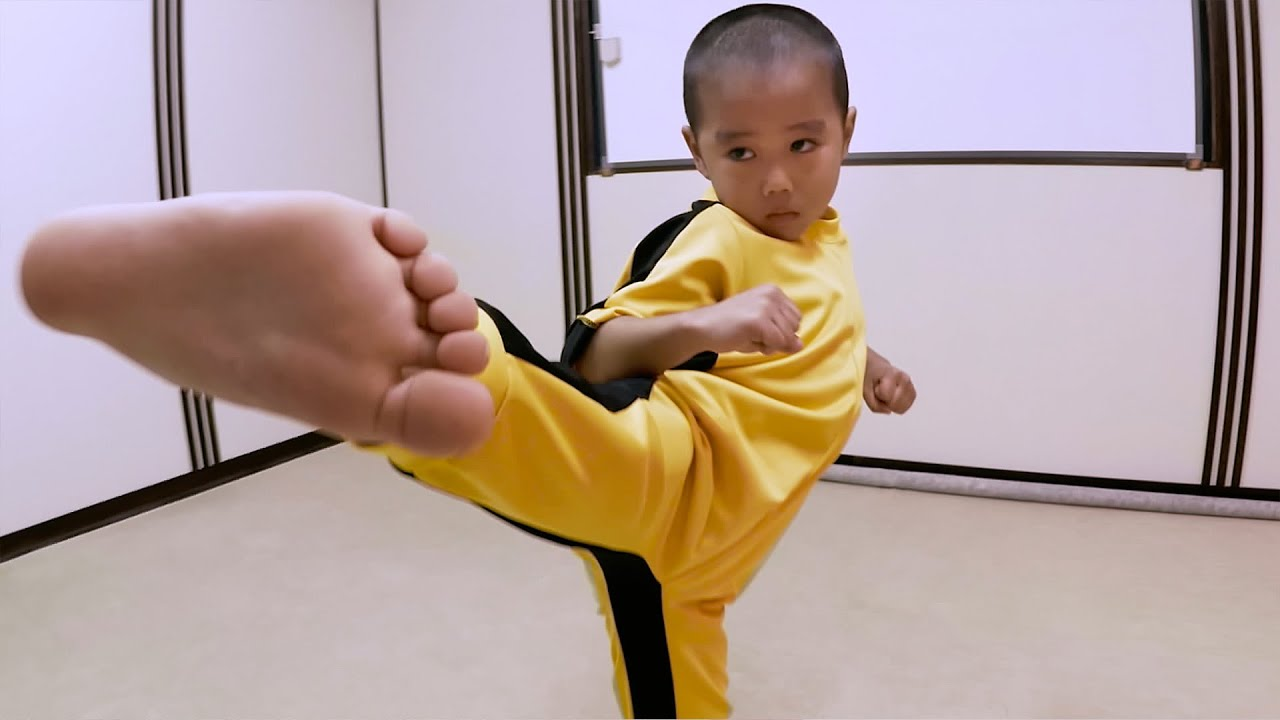 Download GoPro: Five-year-old 'Mini Bruce Lee'