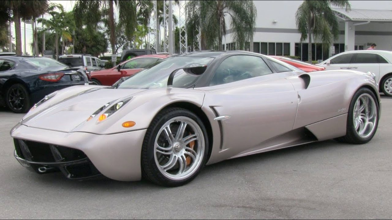 2015 Pagani Huayra Start Up Exhaust And In Depth Review