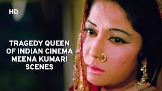 Beautiful  Meena Kumari Scenes from Pakeezah   Raj Kumar   Hindi Classic Movie