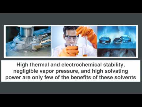Do you want to know the applications of the ionic liquids?