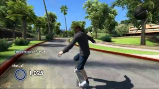 Guinness World Record Attempt - World's Longest Manual in Skate 3