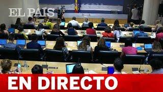 DIRECTO INVESTIDURA PEDRO SÁNCHEZ | Comparecencias en el Congreso antes de la VOTACIÓN