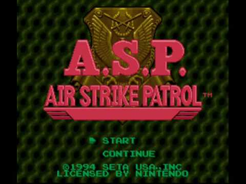 A.S.P. Air Strike Patrol SNES Music - Headquarters