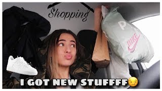 shopping haul, friends & newwww shoes - another day in my life | VLOG