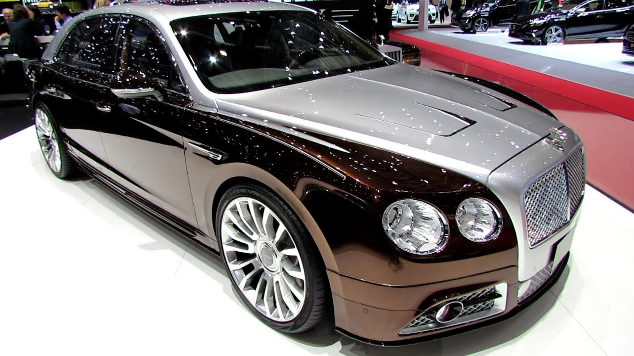 2014 Bentley New Flying Spur by Mansory - Exterior Walkaround - 2014 ...