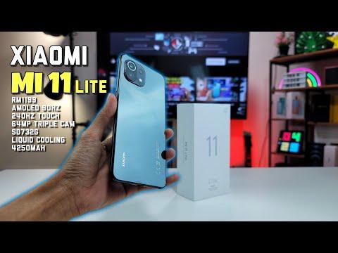 Xiaomi Mi 11 Versi Murah! - Unboxing Mi 11 Lite