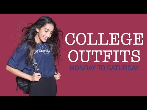 6 Totally Wearable College Looks - College Dressing Tips - Glamrs