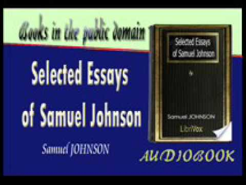 Selected Essays of Samuel Johnson Audiobook Part 2