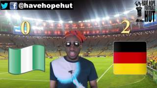 Nigeria vs  Germany Post Match Reaction Olympic Football