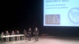 Maturitní projev 8.X/Y a 4.A/B 2011 Gymnázium Trutnov