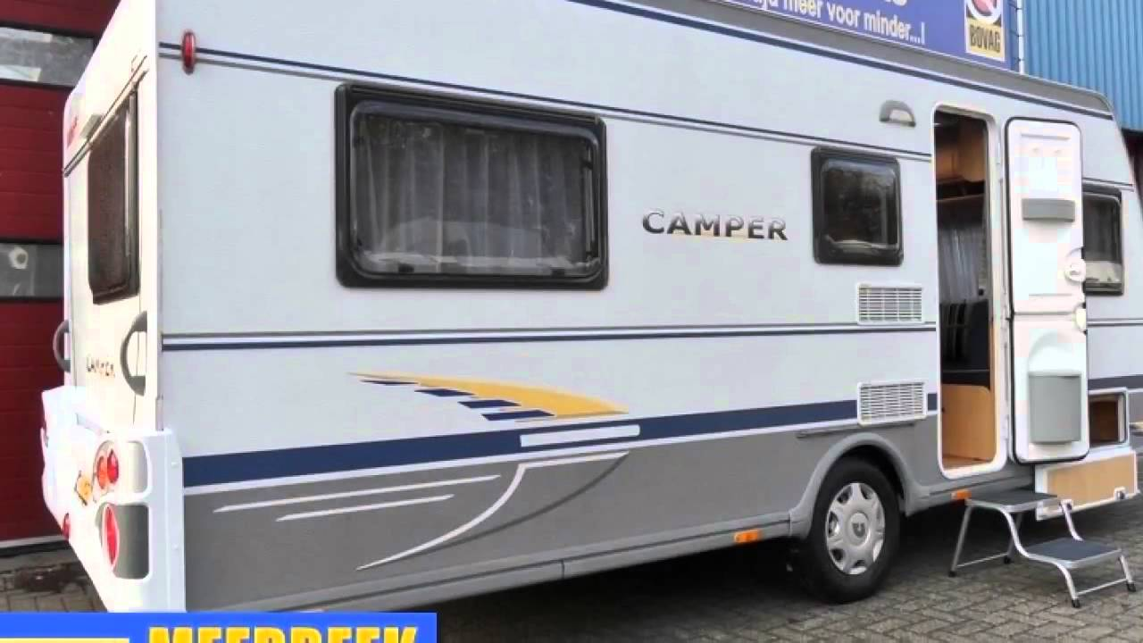 caravan te koop dethleffs camper 510 tk 3 persoons stapelbed verkocht youtube. Black Bedroom Furniture Sets. Home Design Ideas