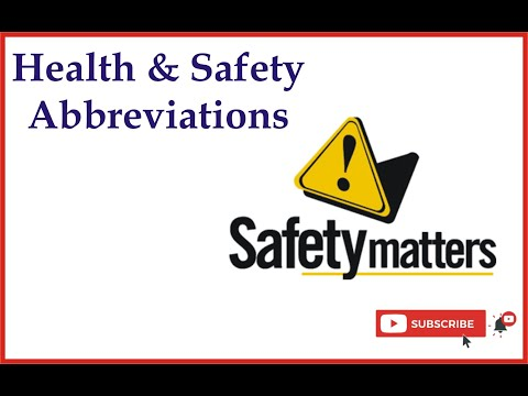 health-and-safety-abbreviations-commonly-used