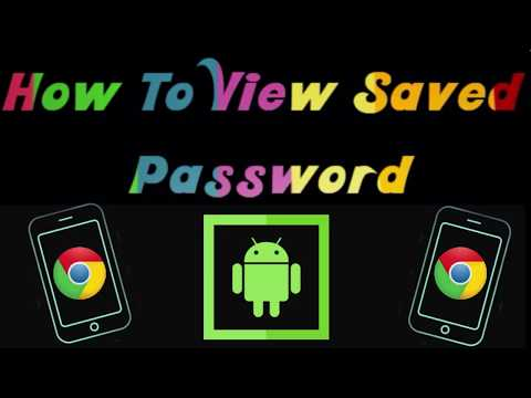 How To View Saved Passwords On Android Youtube