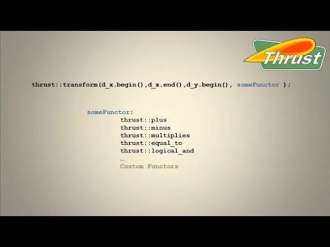CUDACast #16 - Thrust Algorithms and Custom Operators