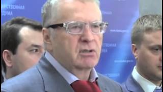 Wladimir Schirinowski droht USA mit