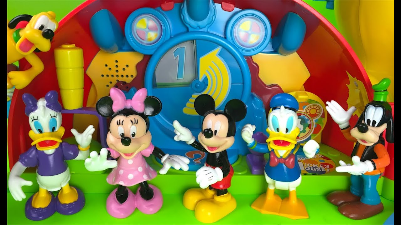 Mickey Mouse Clubhouse Playset Minnie Mouse Pluto Daisy
