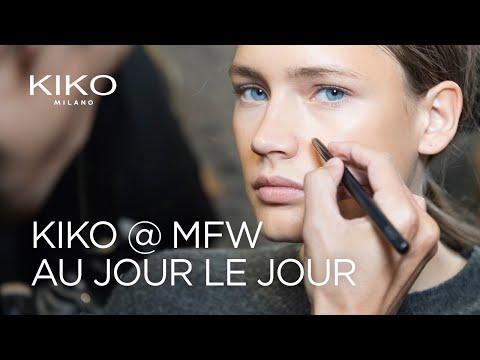 Kiko Milano at Milan Fashion Week: Au Jour Le Jour S/S 18