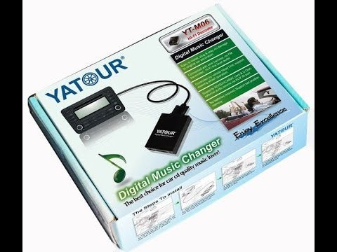 YATOUR YT-M06 - Digital Music Changer - Unboxing - YouTube