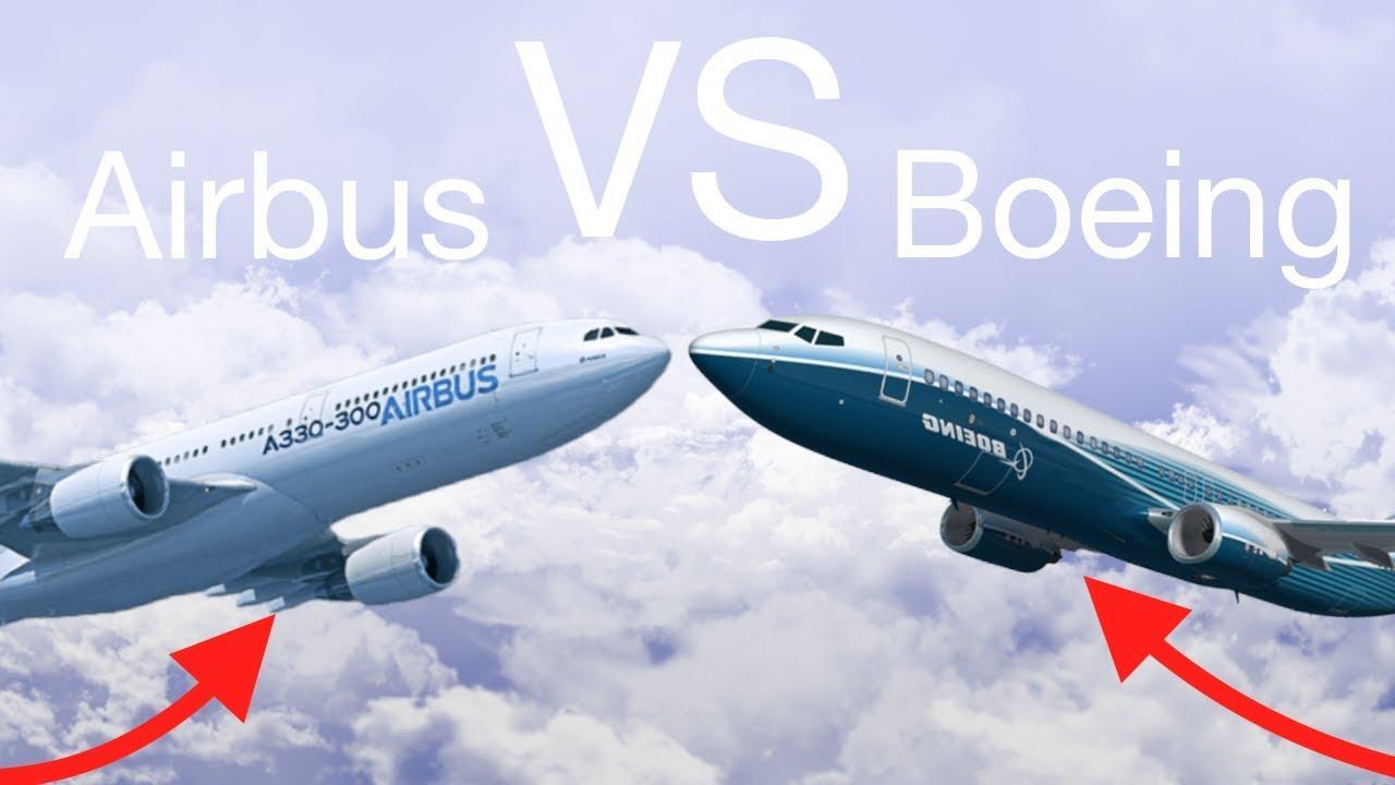 Анализ акций Boeing и AirBus