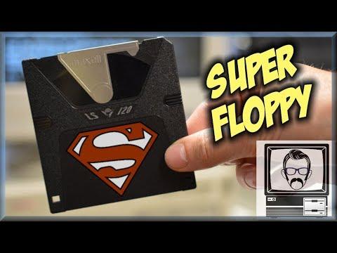 A 120MB Super Disk -- Floptical Disk | Nostalgia Nerd