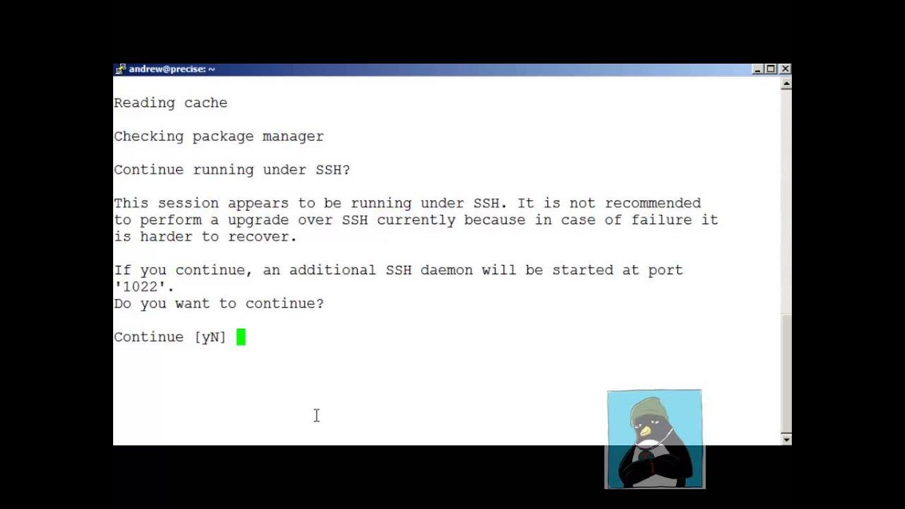 Ubuntu Server Upgrade from 12 04 to 14 04