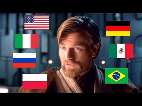 """SITH LORDS ARE OUR SPECIALITY"" IN MULTIPLE LANGUAGES"