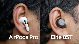 [Versus] Jabra Elite 85T = AirPods Pro killer? Fight for best wireless ANC earbuds!