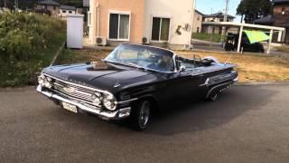 極太バナナの1960 Chevolet Impala Convertible AirRide LowRider インパラ