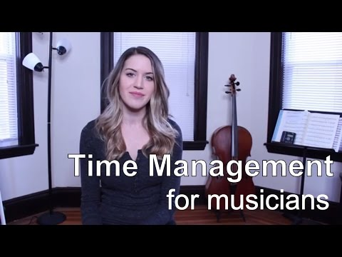 New Year's Resolution 2017: Time Management (for musicians/freelance artists) - Career skills