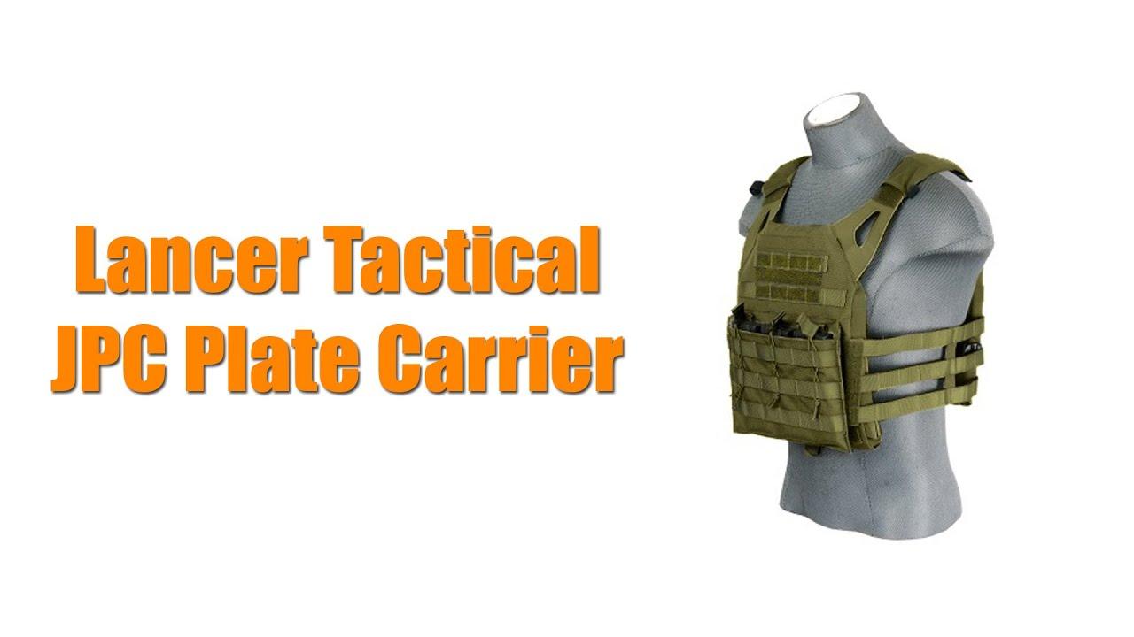 Download Lancer Tactical JPC Plate Carrier Vest Overview