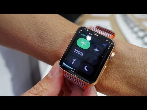 Apple Watch Series 3 first look