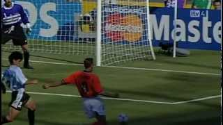 Dennis Bergkamp vs Argentina 1998 - The goal that shook the world