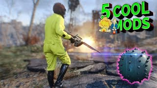Fallout 4 - 5 COOL MODS - Explosive Mods Bundle - Fire And Forget (XBOX ONE/PC)