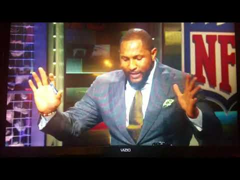 Ray Lewis makes excuses and cooning on why he took two knees during the National Anthem