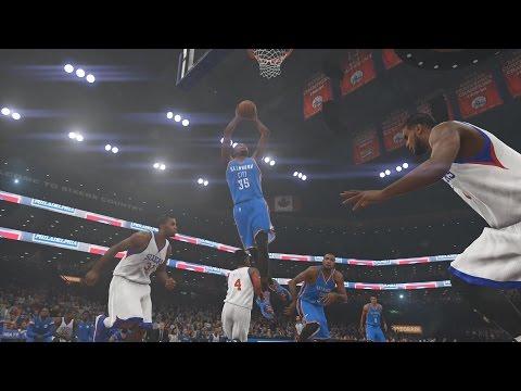 NBA 2K15 Oklahoma City Thunder Vs Philadelphia 76ers 05-12-2014