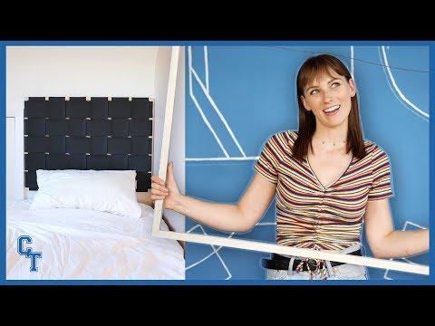Dorm Room Headboards 3 Ways! | college try