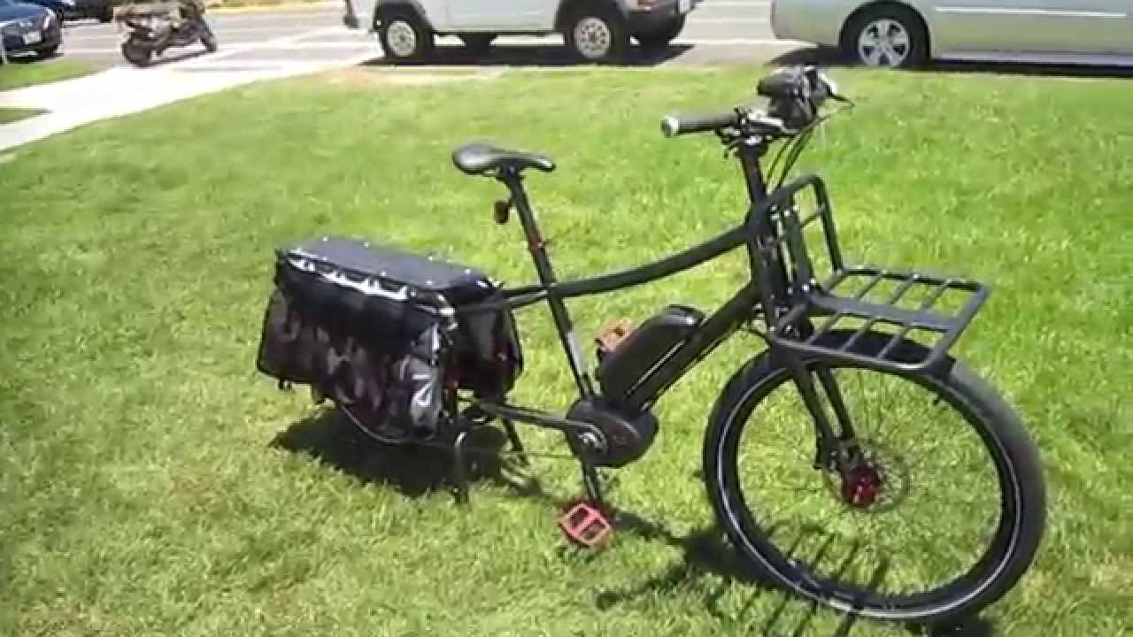 Xtracycle Edgerunner 10e E Cargo Bike Walkaround Youtube