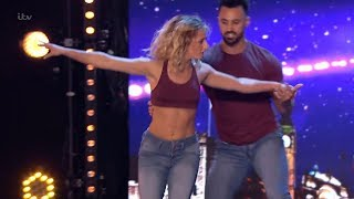 Britain's Got Talent 2019 Daring Skate Duo Rosie & Adam Full Audition S13E04
