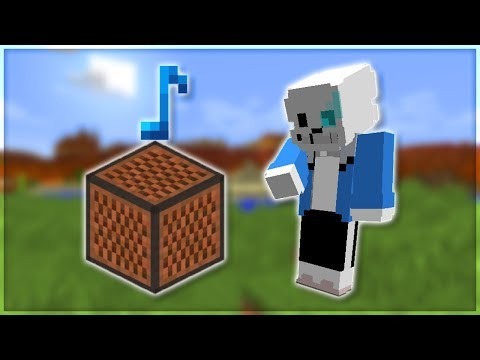 ♪ Undertale - Megalovania | Minecraft Note Block Remake (Wireless) ♪