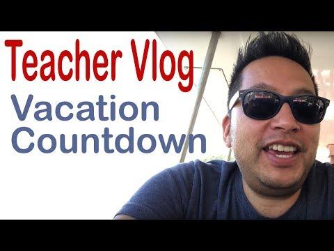 Teacher Blog - Vacation Countdown