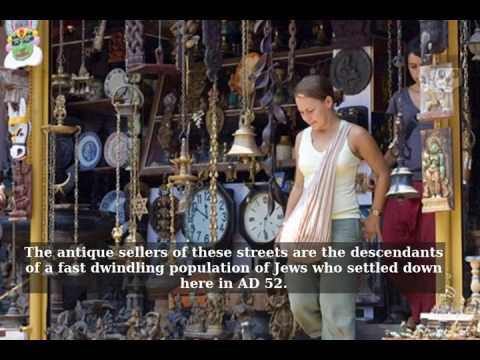 The Antique Sellers of Jew Street in Kochi