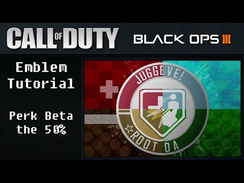 the 50% - Perk Beta: CoD: BO3 Perk-a-Cola Emblem Guide/Tutorial