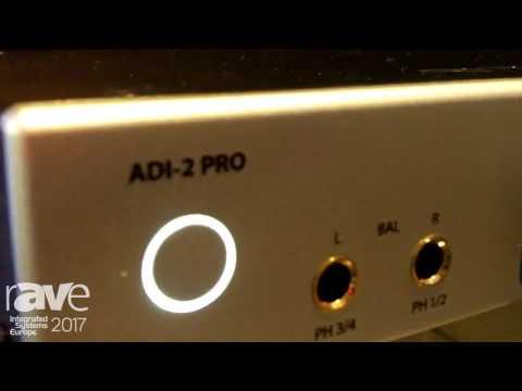 ISE 2017: RME Audio Displays ADI-2 Pro AD-DA Converter and Headphone Preamp