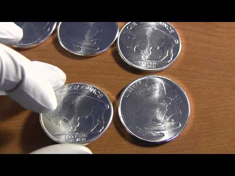 Silver Bars vs Silver Coins