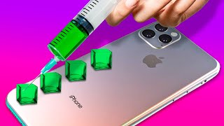 28 TOTALLY COOL DIY IDEAS FOR YOUR GADGETS || PHONE DECOR HACKS