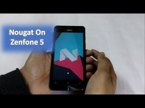 Nougat on Zenfone 5